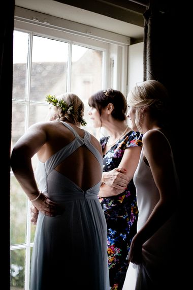 Bridesmaids Getting Ready | Eleanor Howarth Photography