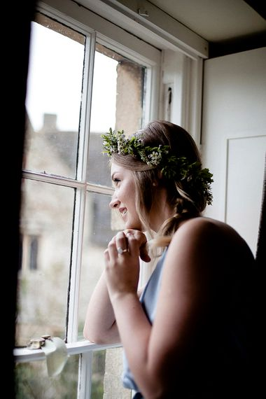 Bridesmaid Getting Ready | Eleanor Howarth Photography