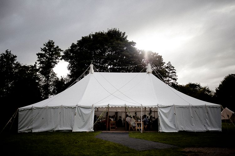 Festival Wedding with Bell Tents & Marquee Reception at Stowford Manor Farm | Eleanor Howarth Photography