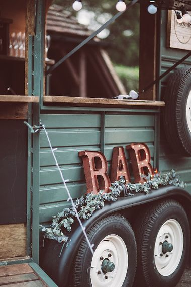 "Horse Box Bar // <a href=""https://www.thedawdlingduck.co.uk/"" rel=""noopener"" target=""_blank"">The Dawdling Duck</a>"
