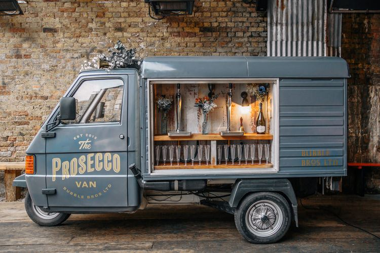"Prosecco Van From <a href=""https://www.bubblebros.co.uk/"" rel=""noopener"" target=""_blank"">The Bubble Bros</a>"