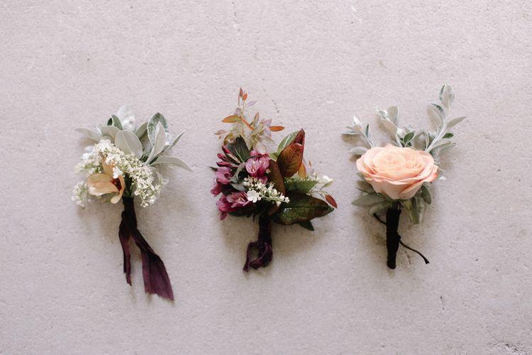 Dark Spring Buttonholes | Image by Rebecca Goddard