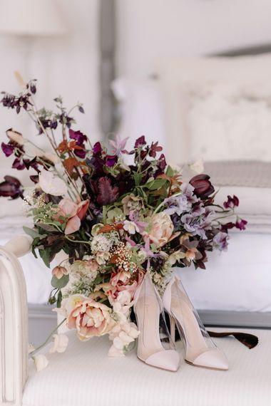 Dark Spring Bouquet by Jay Archer Floral Design | Image by Rebecca Goddard
