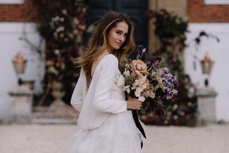 Halfpenny London Wedding Dress | Image by Rebecca Goddard
