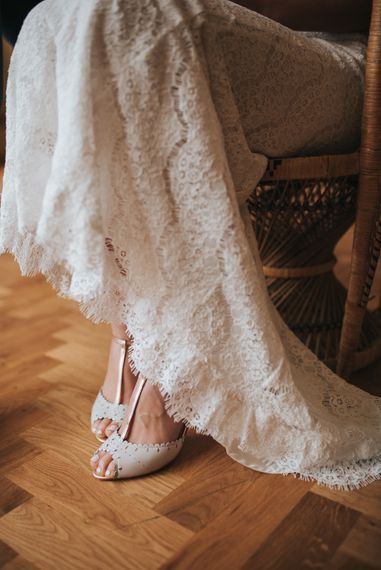 Rachel Simpson Wedding Shoes