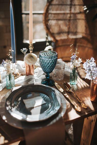 Dusky Blue & Copper Wedding Inspiration