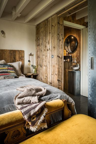 Master Bedroom | The Stack Cornwall | Intimate Exclusive Hire Wedding Venue