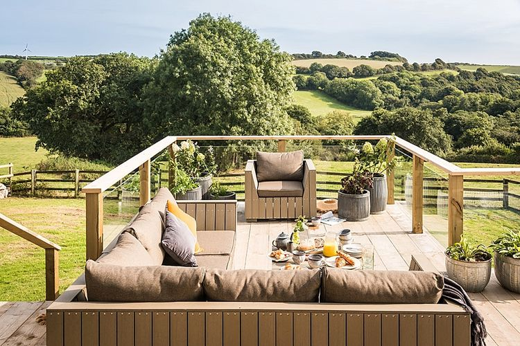 Terrace | The Stack Cornwall | Intimate Exclusive Hire Wedding Venue