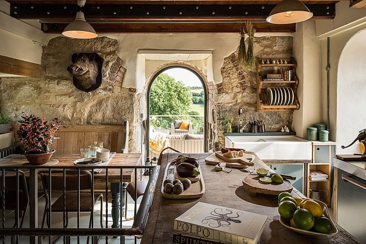 Kitchen | The Stack Cornwall | Intimate Exclusive Hire Wedding Venue