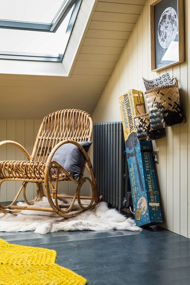 Cosy Attic Bedroom | The Stack Cornwall | Intimate Exclusive Hire Wedding Venue