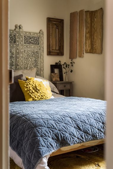 Moroccan Inspired Bedroom | The Stack Cornwall | Intimate Exclusive Hire Wedding Venue