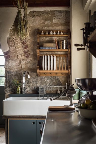 Kitchen Details | The Stack Cornwall | Intimate Exclusive Hire Wedding Venue