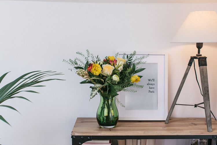 Displaying Florals At Home