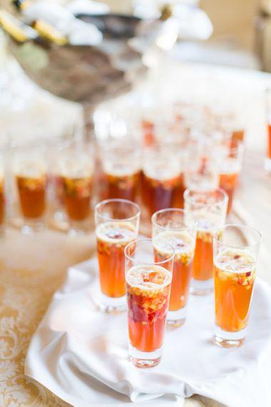 Pimms Reception At Wedding