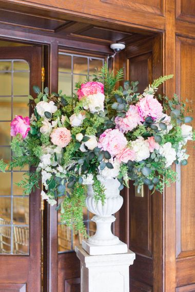 Large Floral Display For Wedding