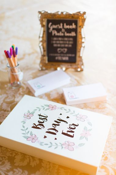 Interactive Wedding Guest Book