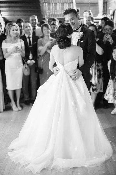 Bride In Princess Dress