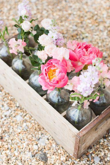Pretty Peony Wedding Flowers