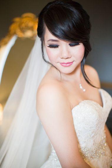 Bride With A Smokey Eye