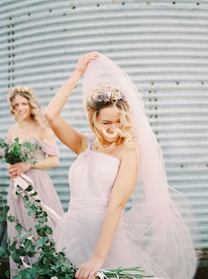 Pastel Bridesmaids Dresses For Stylish Modern Bridesmaids // Affordable Luxury, Bridesmaids & Occassion Dresses