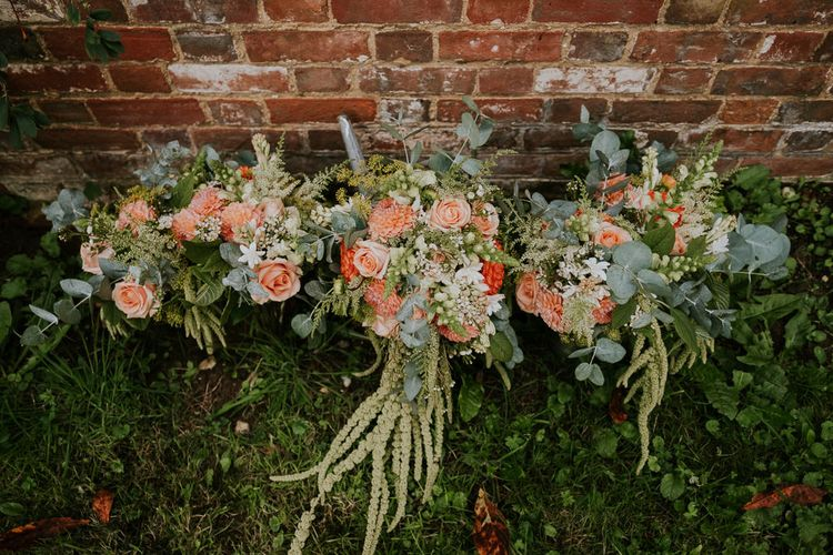 Wedding Bouquet With Amaranthus