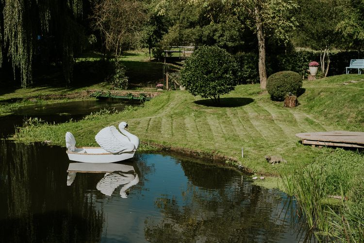 Swan Boat For Wedding Guests