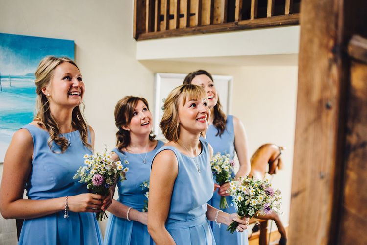 At Home Marquee Wedding with Lemons  Morilee Bridal Gown   Blue Bridesmaid Dresses   DIY Decor   Homemade Cake   J S Coates Wedding Photography