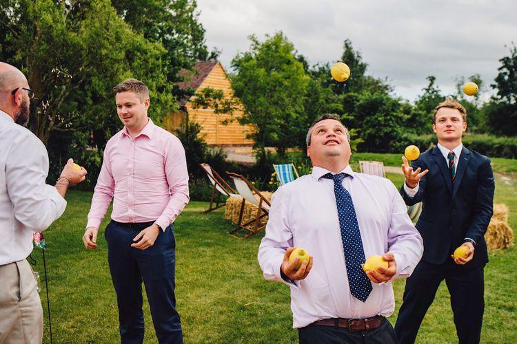 Garden Games   DIY At Home Marquee Wedding   J S Coates Wedding Photography