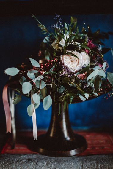 Wedding Bouquet | Tropical Green & Fuchsia Pink Outdoor Wedding at Castellina de Miremont, Italy Planned & Styled by Come le Ciliegie Wedding & Events | Images by Effeanfotografie | Film by Headshot Weddings