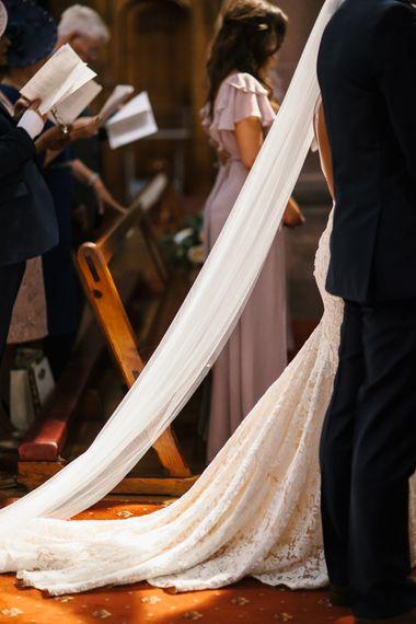 Britten Veil For Stunning Inbal Dror Bride