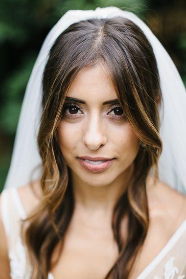 Stunning Inbal Dror Bride With Britten Veil