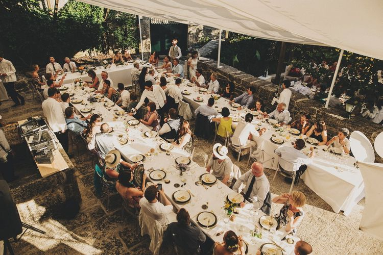 Destination Wedding WIth Outdoor Reception