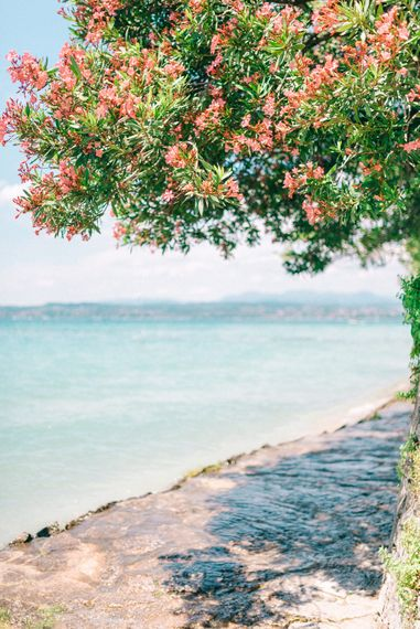Italian Lake Side Scenery