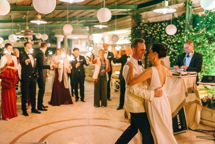 Bride & Groom First Dance | Lanterns