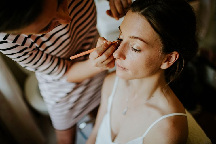 Bridal make up by Willow and Rose