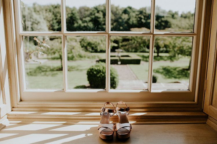 Dune Shoes for the Bride