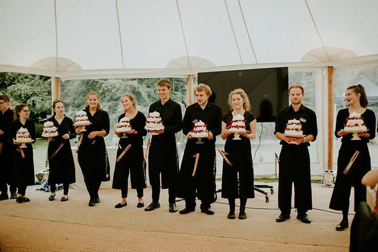 Home Gurrown Caterers knocking it out of the park at this Kent wedding