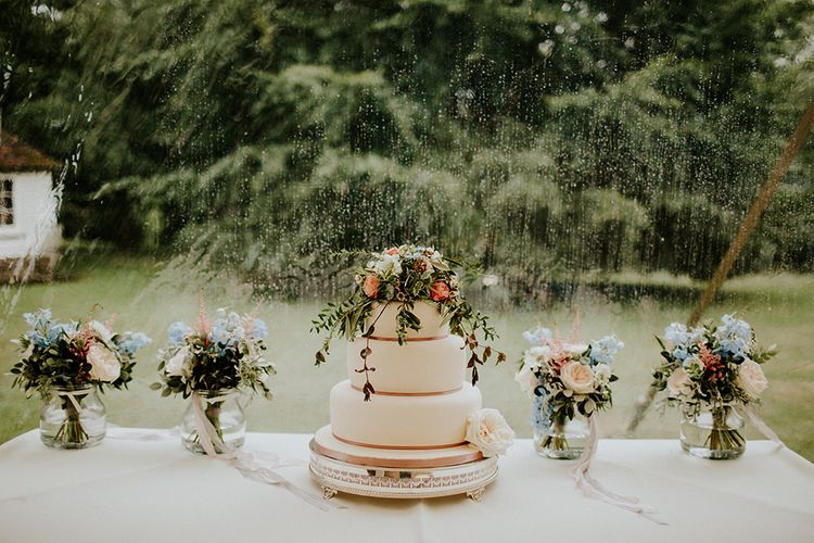 A stunning array of wedding cakes. Why only have one?
