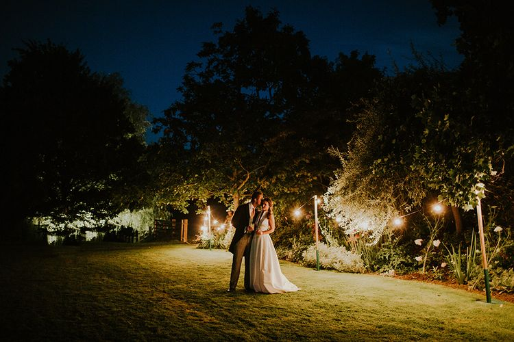 Evening reception at wedding venue Kingsgate in Kent
