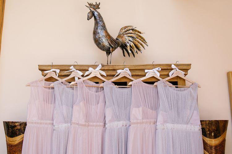 Mismatched Pastel Bridesmaids Dresses