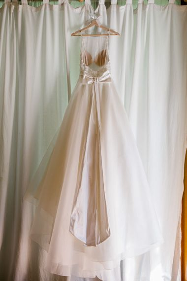 Sassi Holford Wedding Dress With Bow