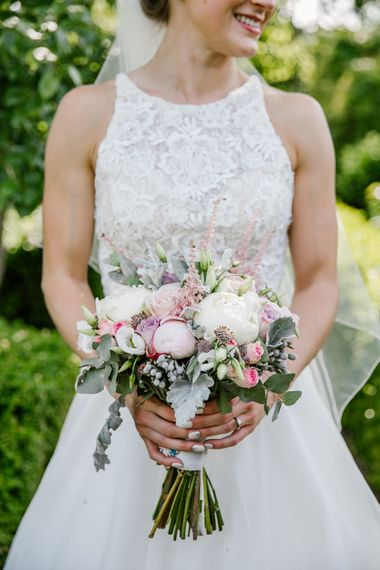 Pink & White Peony Bouquet