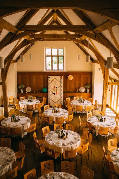 Sulgrave Manor Rustic Barn Wedding Reception