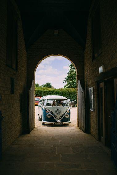 Camper Van Wedding Transport