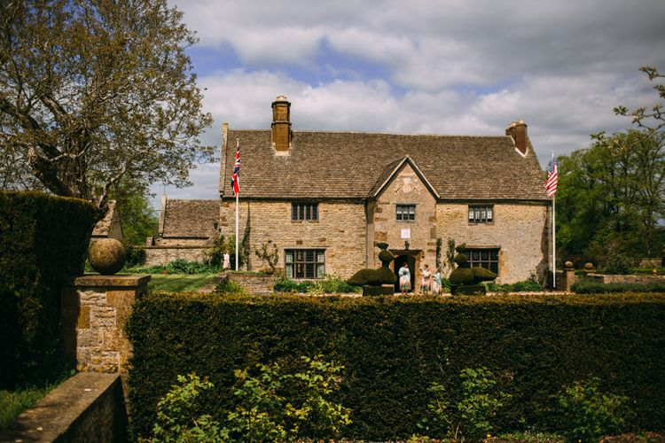 Sulgrave Manor in Northamptonshire