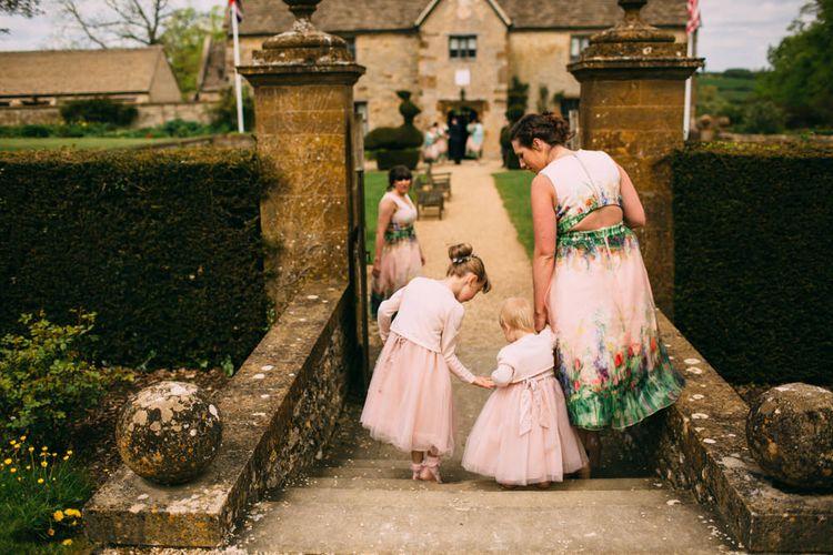 Bridesmaid in ASOS Blush Dresses