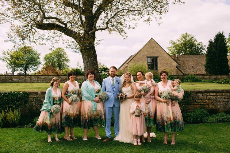 Pastel Wedding Party