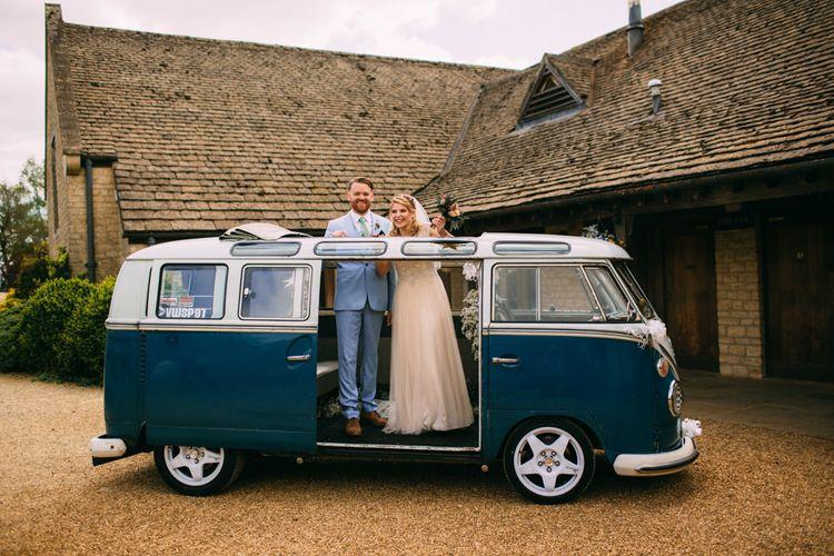 Bride & Groom Camper van