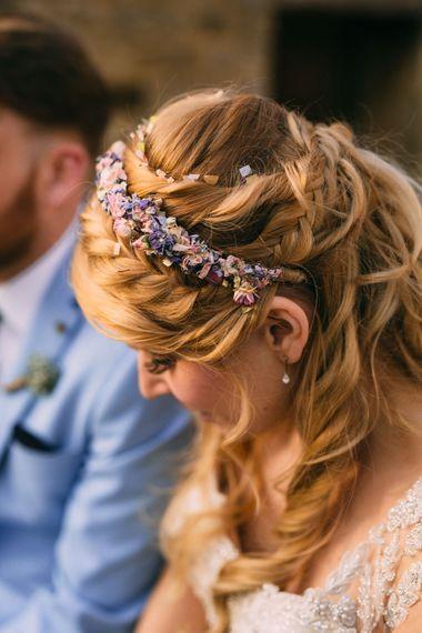 Folky Dokey Dried Flower Crown