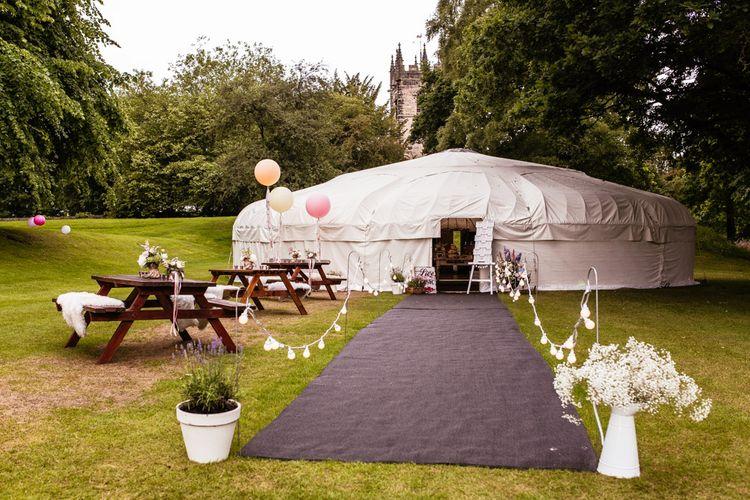 Wedding Yurt